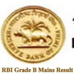 How To Get In Rbi After Mba by Rbi Grade B Mains Result 2017 Phase 1 Obc Sc St Cutoff