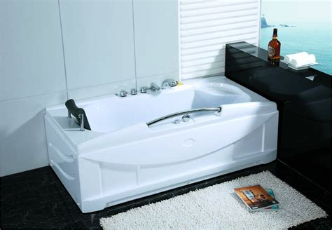 heated jacuzzi bathtub 1 person jetted whirlpool hydrotherapy massage bathtub