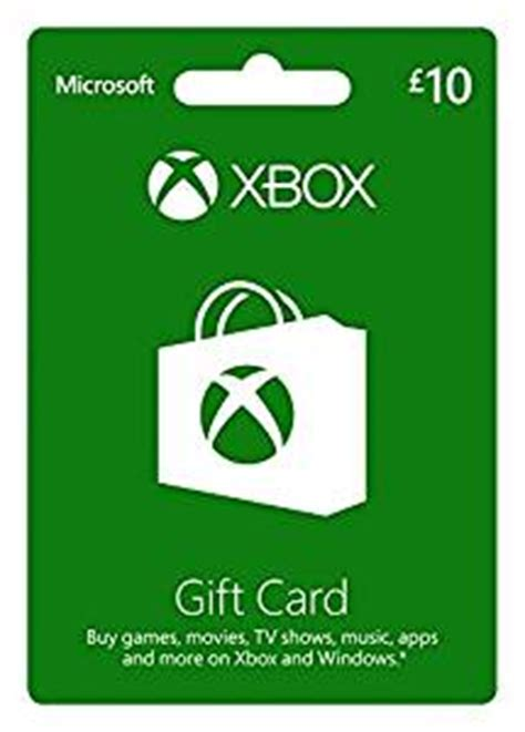 Sell Microsoft Gift Card - microsoft gift card gbp10 xbox one 360 amazon co uk pc video games