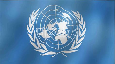 United Nations Nation 12 by United Nations Waving Flag Detail Royalty Free