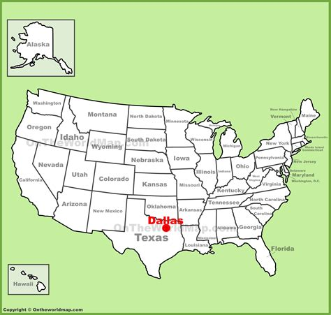 us map dallas texas dallas location on the u s map