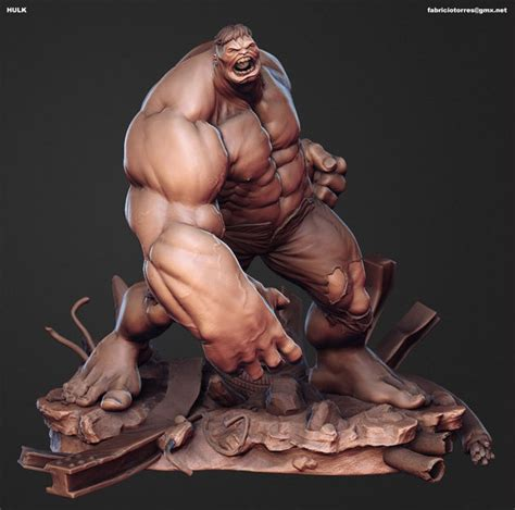 zbrush tutorial rigging making of the hulk by fabricio torres page 1 of 3