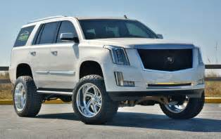 Lifted Cadillac Escalade World S Lifted 2015 Cadillac Escalade