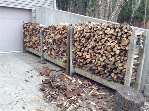 build a firewood rack the easy way outdoor firewood rack storage using reclaimed wooden frame in the backyard house design with