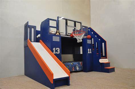 ultimate basketball bunk bed backboard