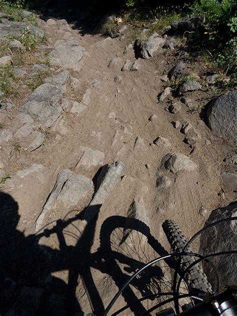 surveyors ridge mountain bike ride