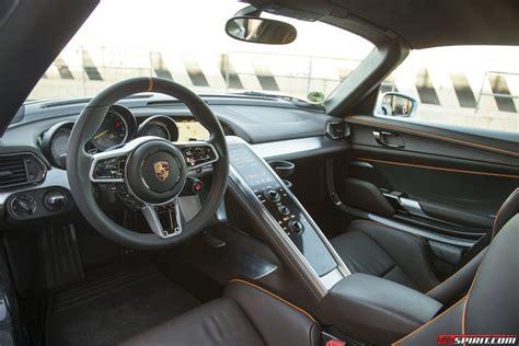 porsche 918 spyder interior road test 2014 porsche 918 spyder review
