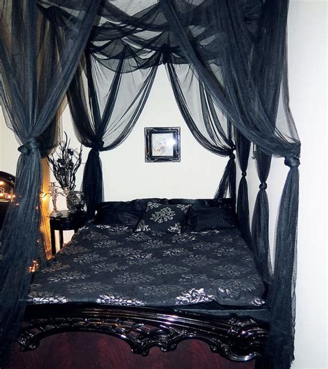 black canopy bed curtains curtain black canopy bed suntzu king bed make curtain