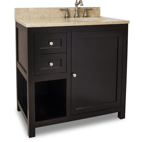 Preassembled Kitchen Cabinets by Jeffrey Alexander Astoria Modern Vanity With Top And Sink