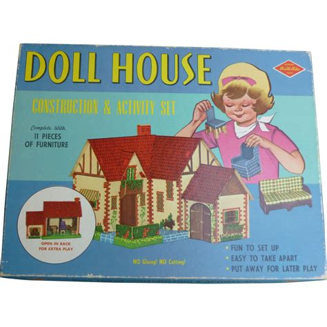 doll house construction built rite doll house construction activity set from amazingamericana on ruby lane