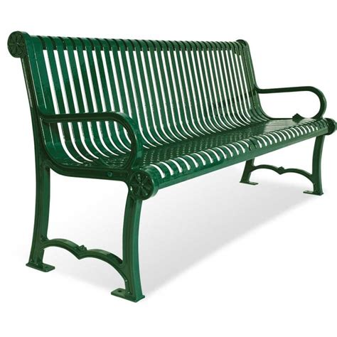 cast aluminum bench 4 and 6 charleston cast aluminum bench portable
