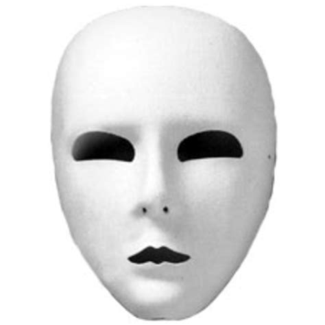 full face mask white ud free images at clker com