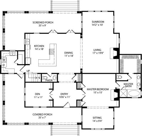 Southern Living Floorplans The 25 Best Cottage Floor Plans Ideas On