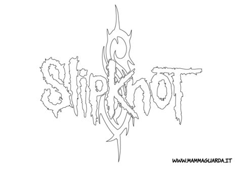 image gallery slipknot coloring