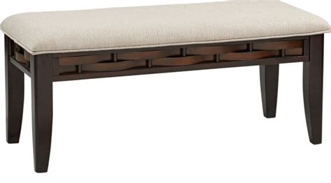 cherry dining bench bedford heights cherry bench transitional