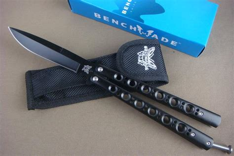benchmade bm42 bm balisong knives butterfly bm42 black tactical knife