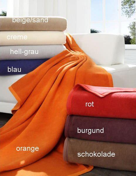 Decke 60 Baumwolle 40 Dralon by Decke Tagesdecke Baumwolle Dralon Kuscheldecke
