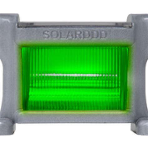 Green Light Solar 8 In Dock Clear Solar Powered Green Light Smc G The