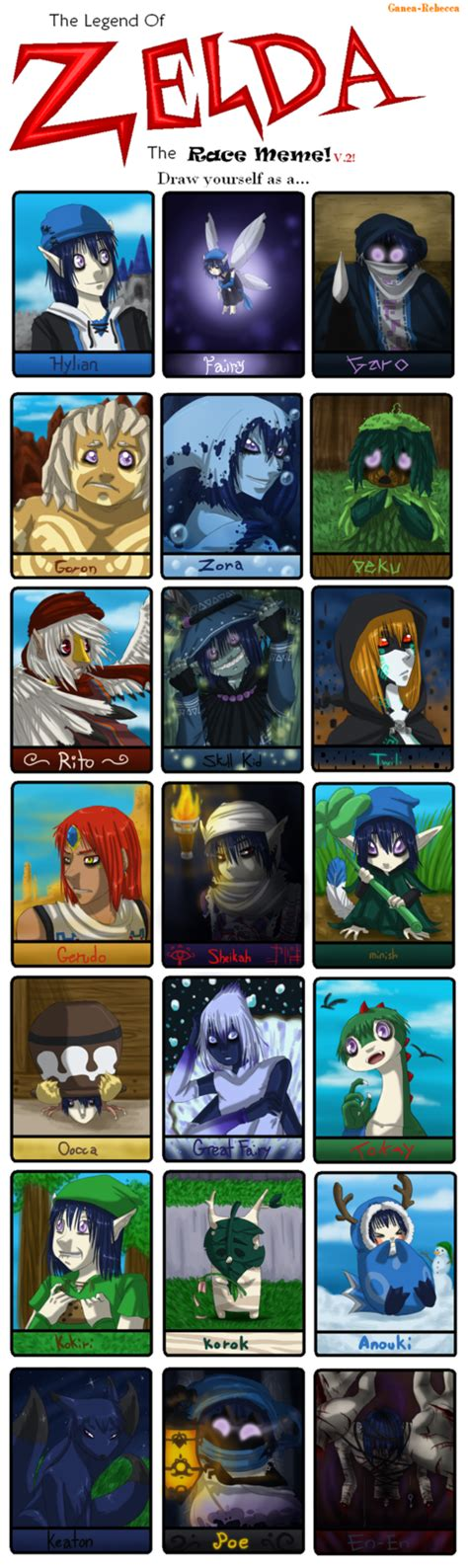 Zelda Memes - zelda race meme by tehartmonkey on deviantart