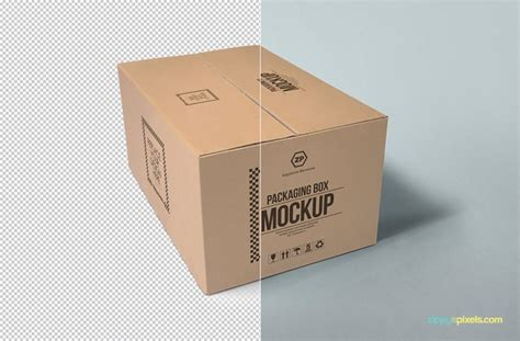 mockup design box customizable packaging box psd mockup mockup pinterest