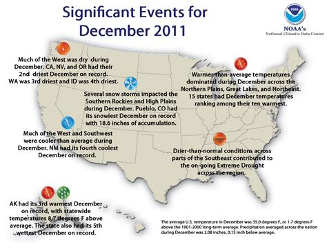 us weather map for december national climate report december 2011 state of the