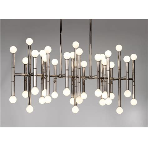 Jonathan Adler Ceiling Light Modern Light Fixtures Luxury Lighting Chandeliers Meurice Rectangle Chandelier Ceiling L