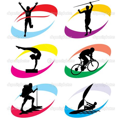 clipart sport 14 sport icons vector event images sports vector