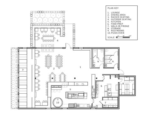 pizzeria floor plan plan key details of pitfire pizza restaurant jpeg 800 215 618