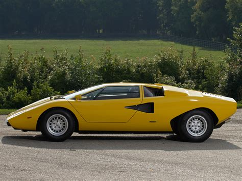 yellow lamborghini countach 1974 lamborghini countach lp400 related infomation