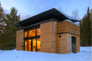 Small Efficient Home Kits E D G E Prefabricated Retreat Or Residence
