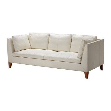 white leather couch ikea rismon abat jour bleu vert blanc white leather sofas