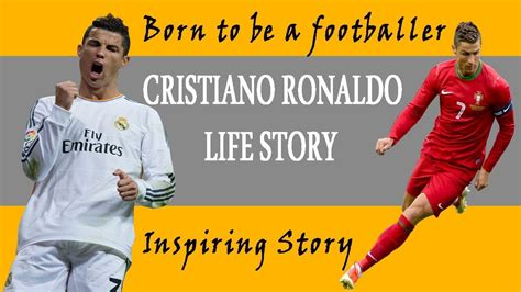 cristiano ronaldo biography book in english cristiano ronaldo s biography english youtube
