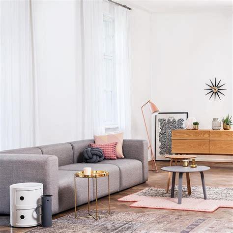 wohnzimmer 4 x 10 componibili 2 container kartell ambientedirect
