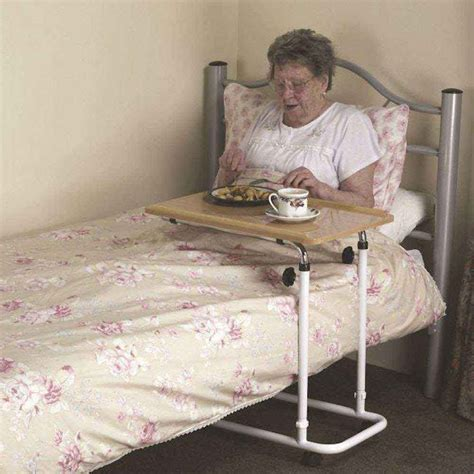 bead table l bed table nrs healthcare