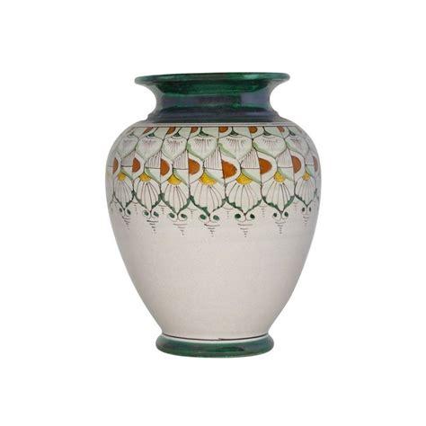 vasi portafiori vaso portafiori in ceramica italiana fatto e dipinto a mano