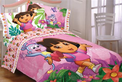dora the explorer bedroom dora and diego bedding and room decorations modern