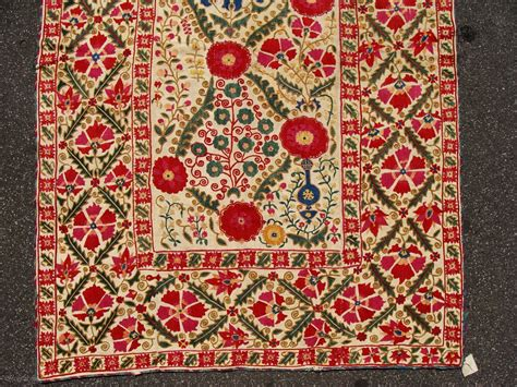 cohen rugs fantastic nim suzani 3 x 4 7 quot circa 1850 in mint condition rugrabbit