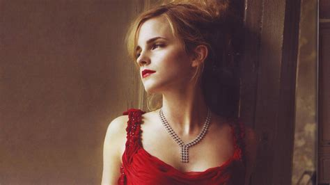 emma watson red dress emma watson hot in red dress wallpapers 1920x1080 424357
