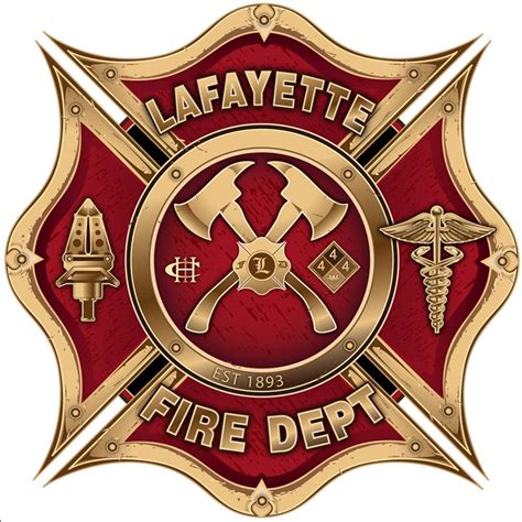 design a fire department logo lafayette co official website fire