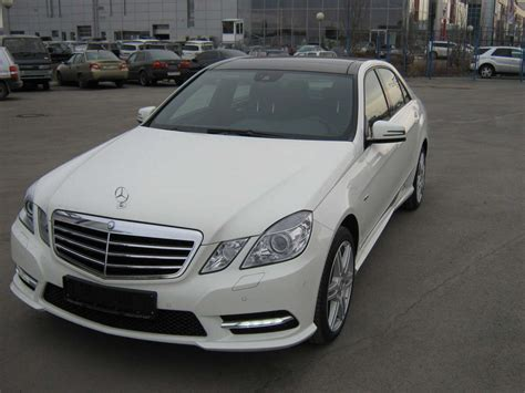 used 2012 mercedes e class photos 3498cc gasoline