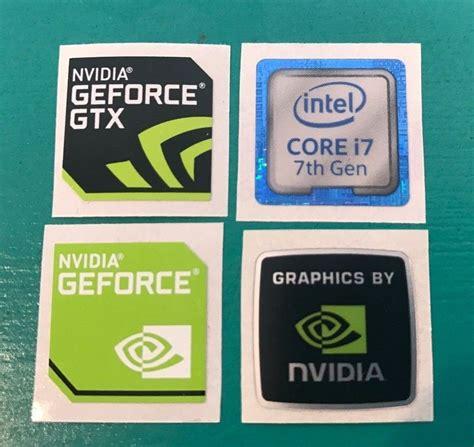 Intel Sticker