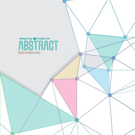 triangle layout vector abstract triangle shapes background vector free download