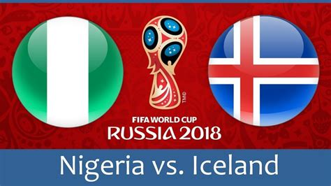 nigeria vs iceland betting picks 2018 fifa world cup