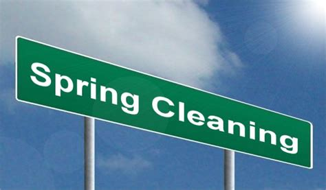 spring cleanup spring cleaning highway image