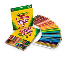 colores crayola crayola 50 count colored pencils 2 pack