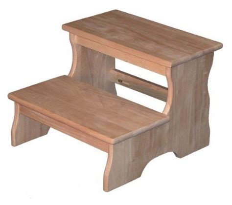 step stool by wood creations furniture 59 95 parawood
