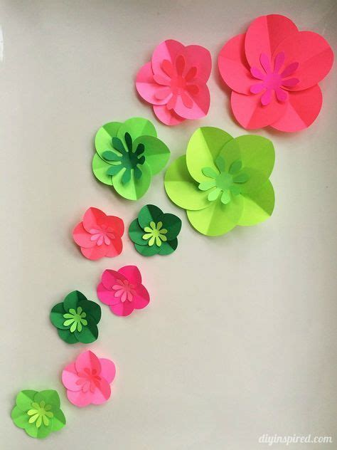 Paper Roses Craft - 1000 ideas about easy paper flowers on crepe