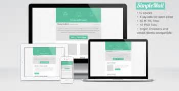 simplemail email newsletter template by crazyleaf