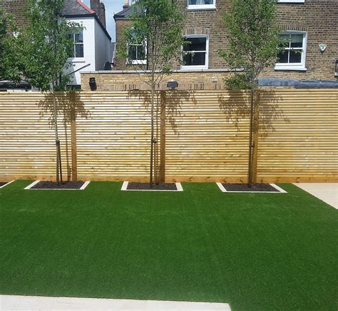 privacy trellis fencing grass archives garden
