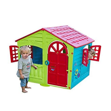 Children Kids Plastic Indoor Outdoor Cottage Playhouse Plastic Cottage Playhouse